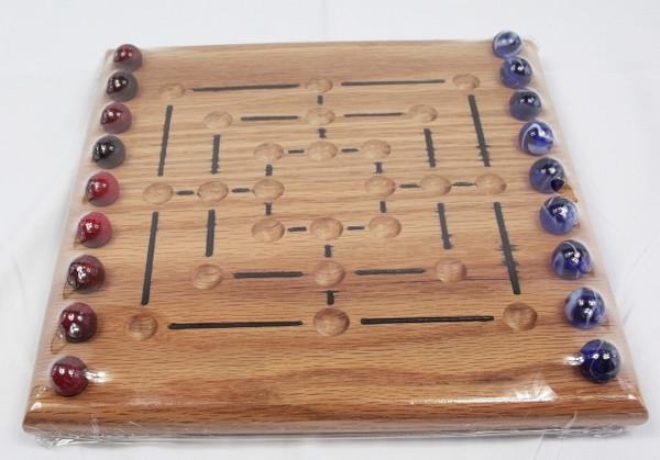 Nine Man Morris Game - Oak
