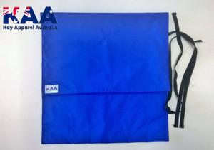 Blue Water Resistant Knife Roll 6 Pocket