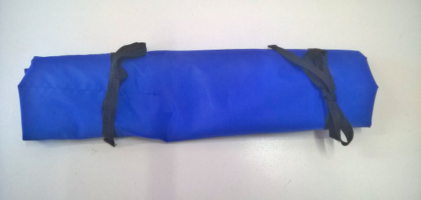 Blue Water Resistant Knife Roll 6 Pocket