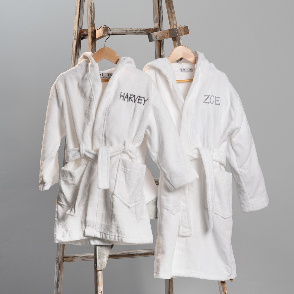 They're back! Luxe Bathrobes for Babies and Kids