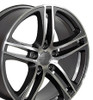 "17"" Fits Audi - R8 Wheel - Gunmetal 17x7.5"