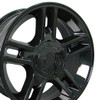 "20"" Fits Ford - F-150 Harley Wheel - Black 20x9"