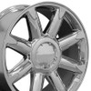 "20"" Fits GMC - Denali Wheel - Chrome 20x8.5"