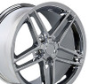 "17"" Fits Chevrolet - Corvette C6 Z06 Wheel - Chrome 17x9.5"