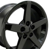"17"" Fits Chevrolet - Corvette C6 Wheel - Black 17x9.5"