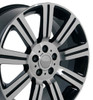 "22"" Fits Land Rover - Stormer Wheel - Black 22x10"