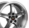 "17"" Fits Ford - Mustang Cobra R Wheel - Gunmetal 17x9"
