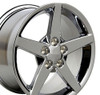 "18"" Fits Chevrolet - Corvette C6 Wheel - Chrome 18x9.5"
