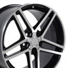 "18"" Fits Camaro Corvette C6 Z06 Wheel Black 18x9.5 OE-5910239"