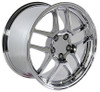 "18"" Fits Chevrolet - Corvette C5 Z06 Wheel - Chrome 18x10.5"