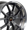 """18"""" Fits Ford - Mustang FR500 Wheel - Anthracite 18x10"""