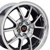 "18"" Fits Ford - Mustang FR500 Wheel - Chrome 18x9"