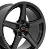 """18"""" Fits Ford - Mustang Saleen Wheel - Black 18x10"""