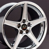 """18"""" Fits Ford - Mustang Saleen Wheel - Chrome 18x10"""