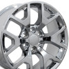 "20"" Fits GMC - Sierra 1500 Wheel - Chrome 20x9"