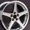"""18"""" Fits Ford - Mustang Saleen Wheel - Chrome 18x9"""