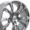 "20"" Fits Jeep - Grand Cherokee SRT8 Wheel - Chrome 20x8.5"