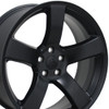 "20"" Fits Dodge - Charger Wheel - Matte Black 20x8"