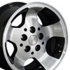 "15"" Fits Jeep - New Wrangler Replica Wheel - Black 15x8"