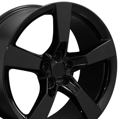 "20"" Fits Chevrolet - Camaro SS Wheel Black 20x9"