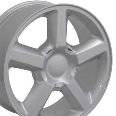 "20"" Fits Chevrolet - Tahoe Wheel - Silver 20x8.5"