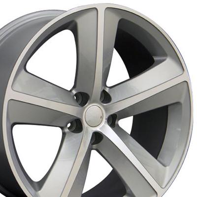 "20"" Fits Dodge - Challenger SRT Wheel - Silver 20x9"