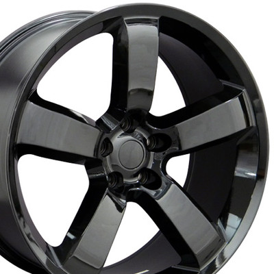 "20"" Fits Dodge - Charger SRT Wheel - Black 20x9"