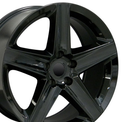 "20"" Fits Jeep - Grand Cherokee Wheel - Black 20x9"