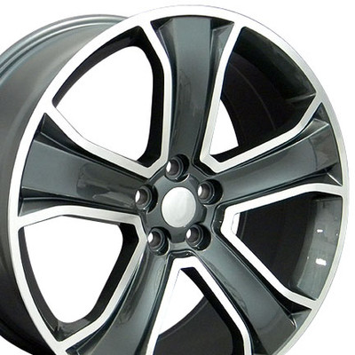 "20"" Fits Land or Range Rover - Wheel - Gunmetal 20x9.5"