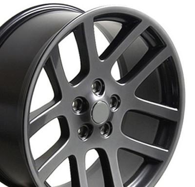 "22"" Fits Dodge - Ram SRT Wheel - Gunmetal 22x10"