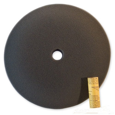 "9"" Black Foam Polishing/Buffing Pad"
