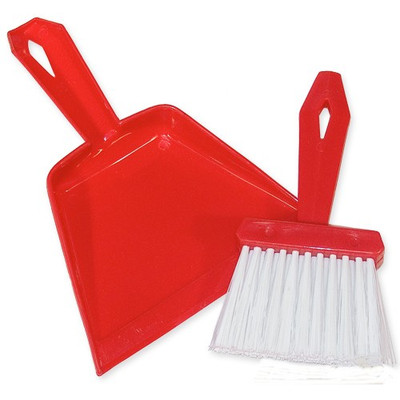 Mini Auto Carpet Dust Pan Whisk Broom