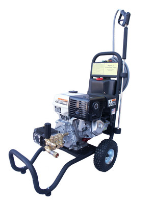 CamSpray Cold Water Cart Mount Gas Drive Pressure Wash 3500PSI/3500HXS