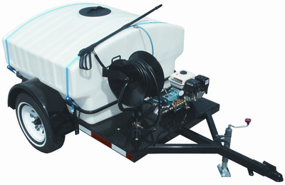 CAM Spray Pressure Washer Trailer Model 4000DT