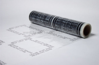 "Carpet Adhesive Film 21"" x 500 Feet x 3 mil."