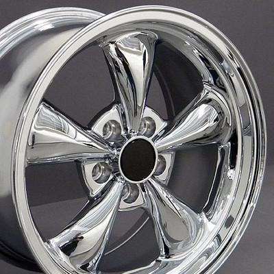 """17"""" Fits Ford - Mustang Bullitt Wheel - Chrome 17x9"""