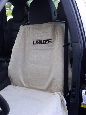 Chevy Cruze Gray Car Seat Cover Towel Armour