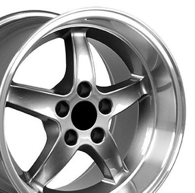 "17"" Fits Ford - Mustang Cobra R Wheel - Gunmetal 17x10.5"