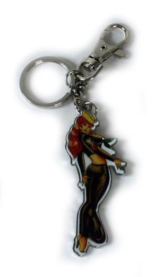 Ed Hardy Sailor Chrome Keychain