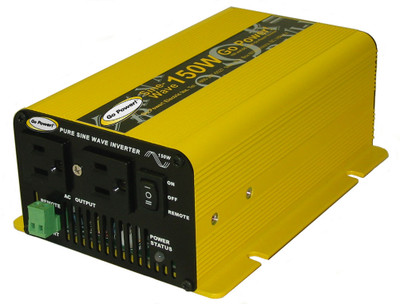 Go Power 150 WATT PURE SINE WAVE INVERTER 12V