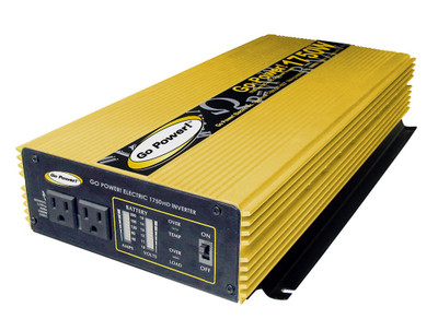 Go Power 1750 WATT MODIFIED SINE WAVE INVERTER 12V