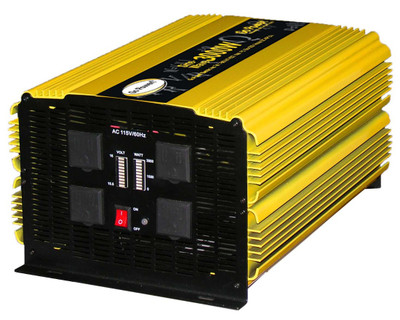 Go Power 3000 WATT MODIFIED SINE WAVE INVERTER 12V