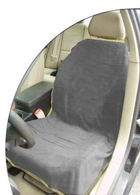 Grey Car Seat Cover Towel Blank
