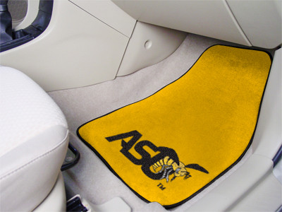 Alabama State University Hornets 2-PC Carpet Floor Mats