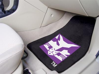 NYU Bobcats 2-PC Carpet Floor Mats