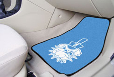 The Citadel Bulldogs Carpet Floor Mats