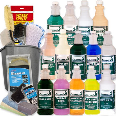 New Car Detailing Kit