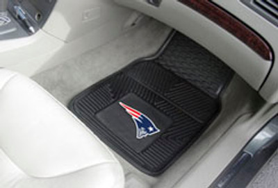 New England Patriots Vinyl Floor Mats