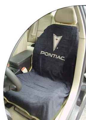 Pontiac Black Car Seat Cover Towel