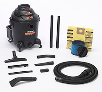 Shop-Vac 12 Gallon 6.5 Peak HP Commercial Vacuum Model 9621210